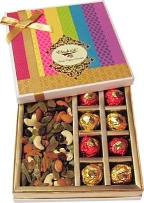 Chocholik Awesome Combination Of Nuts Chocolates Almonds(300 g, Box)