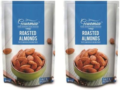 Gourmia Roasted Salt & Pepper Almonds(400 g, Box)