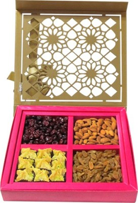 Chocholik Delicious Dry Fruit Box With Baklava Almonds(800 g, Box)