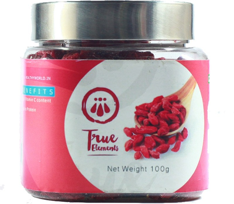 True Elements Goji Berries Mulberries(100 g, Plastic Bottle)