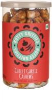 Nutty Gritties Chilli Garlic Dry Fruit Cashews(180 g, Mason Jar)