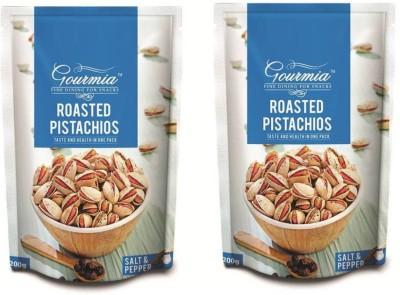 Gourmia Roasted & Salt Pepper Pistachios(400 g, Box)