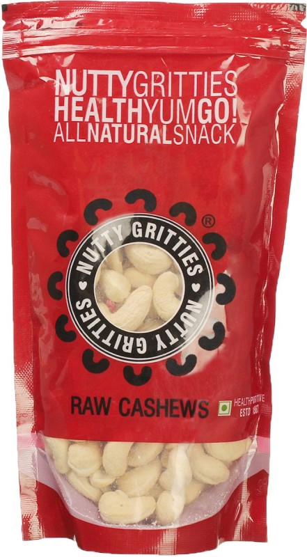 Nutty Gritties Delicious Cashews(250 g, Pouch)