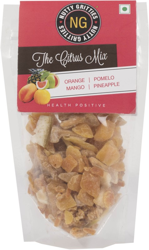 Nutty Gritties The Citrus Mix Mango, Pineapple, Orange(150 g, Pouch)