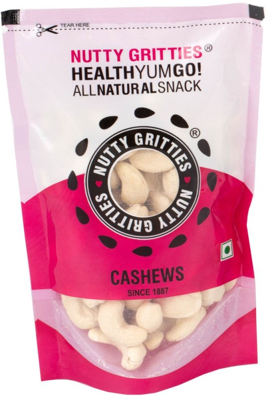 Nutty Gritties Regular 100g Cashews(100 g, Pouch)