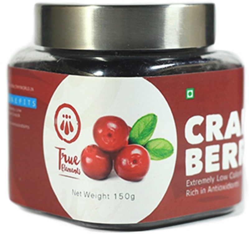 True Elements Dried Cranberries(150 g, Plastic Bottle)