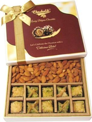 Chocholik Perfect Almond Gift Almonds(390 g, Box)