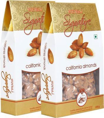 Nutraj Signature California Almonds Plain (Pack of 2)
