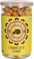 Nutty Gritties Cheeddar Cheese Dry Fruit Cashews(180 g, Mason Jar)