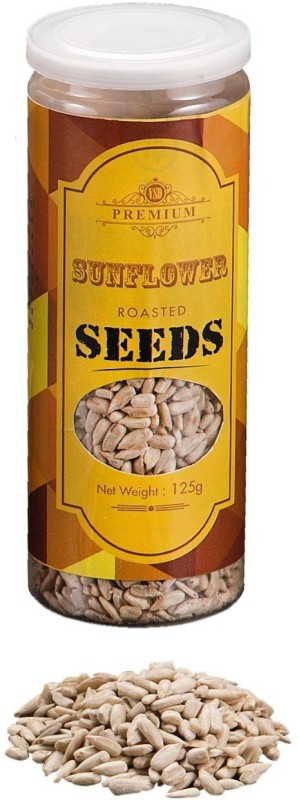 VSD VSDROASTEDSUNFLOWER Sunflower Seeds(125 g, Plastic Bottle)