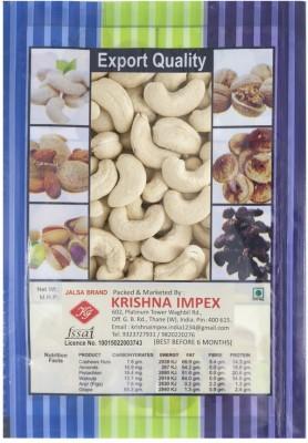 JALSA Kaju Cashews(250 g, Bag)