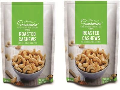 Gourmia Roasted Tangy Masala Cashews(400 g, Box)
