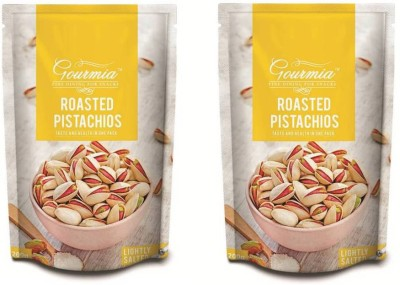 Gourmia Roasted Lightly Salted Pistachios(400 g, Box)