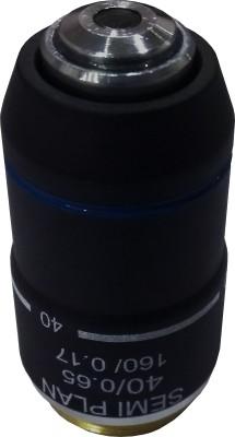 LABOVISION 40x Din Semi Plain Objective Microscope Lens