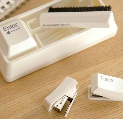 Flintstop Keyboard Stationery Kit  Office Set