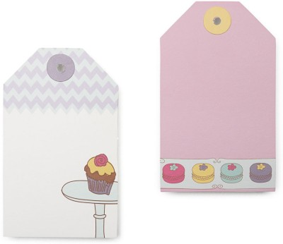 The Papier Project Cupcakes and Frosting  Office Set