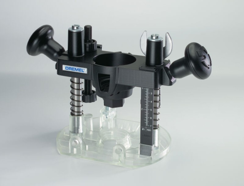 Dremel Plunge Router Attachment(Multicolor)