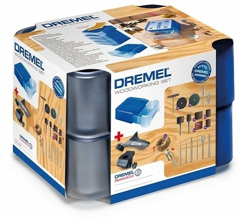 Dremel Wood Working Accessories Set 730(Multicolor)