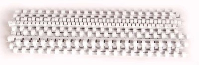 Handson Binding Comb 21 Loops Plastic 10mm White (Pack of 100)  Office Set