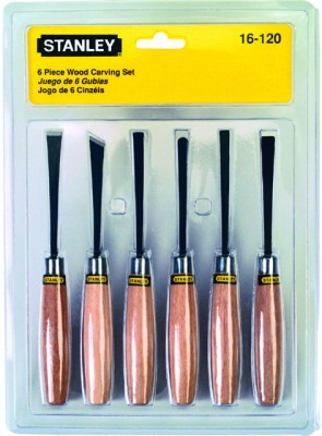 Stanley 16-120 Carving Set (6 Pieces)