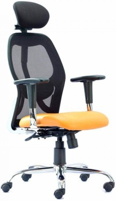 HOF Marco Synthetic Fiber Office Chair(Orange)