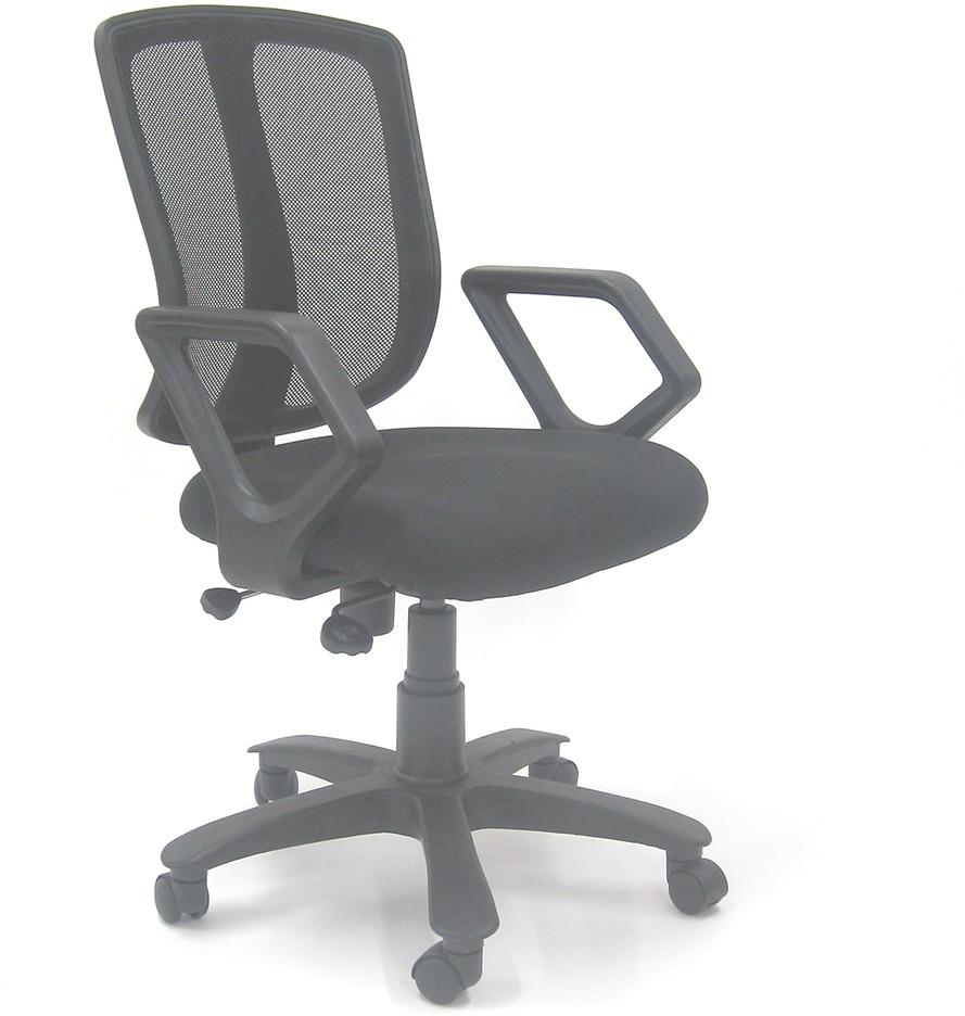 View Chromecraft NA Office Chair(Black) Furniture (Chromecraft)