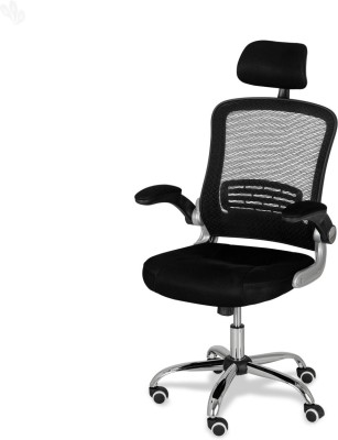 Royal Oak Berry Metal Office Chair(Black)