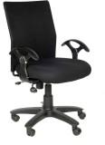 Adiko Plastic Office Chair (Black)