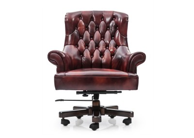 Durian Tycoon-LB Leather Office Chair