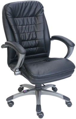 Adiko Leatherette Office Chair(Black)