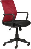 Parin NA Office Chair (Red, Black)