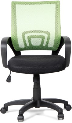 HomeTown Regus Low Mesh_gr Fabric Office Chair