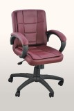 Adiko Plastic Office Chair (Brown)