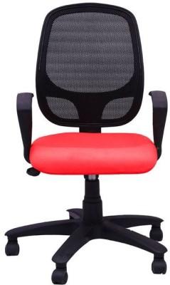 Adiko Plastic Office Chair(Red)