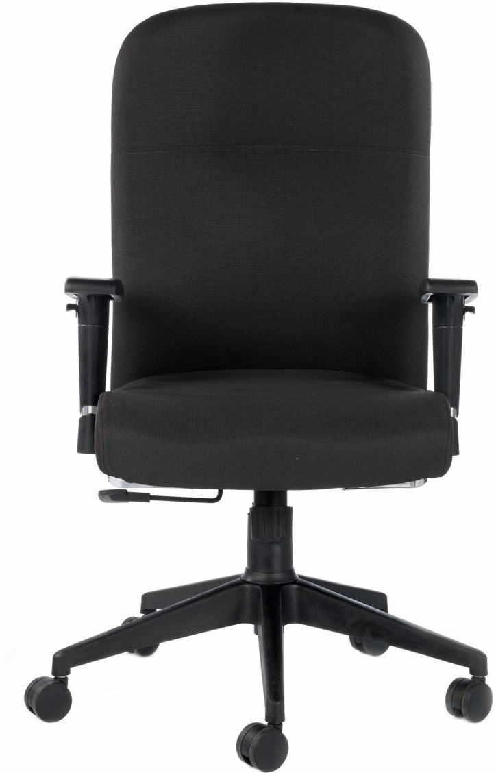 View Bluebell Supremo High Back Synthetic Fiber Office Chair(Black) Furniture (Bluebell)