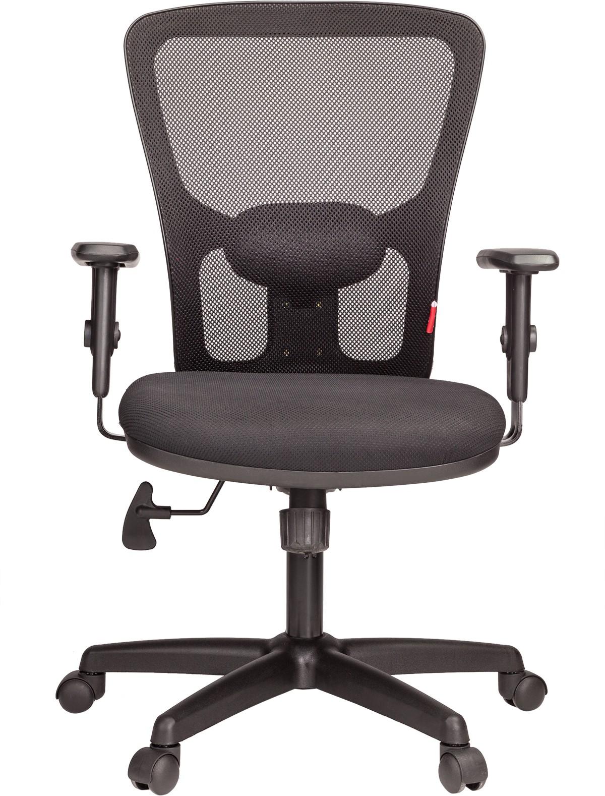 View Ergoline EVA MB Fabric Office Chair(Black) Furniture (Ergoline)