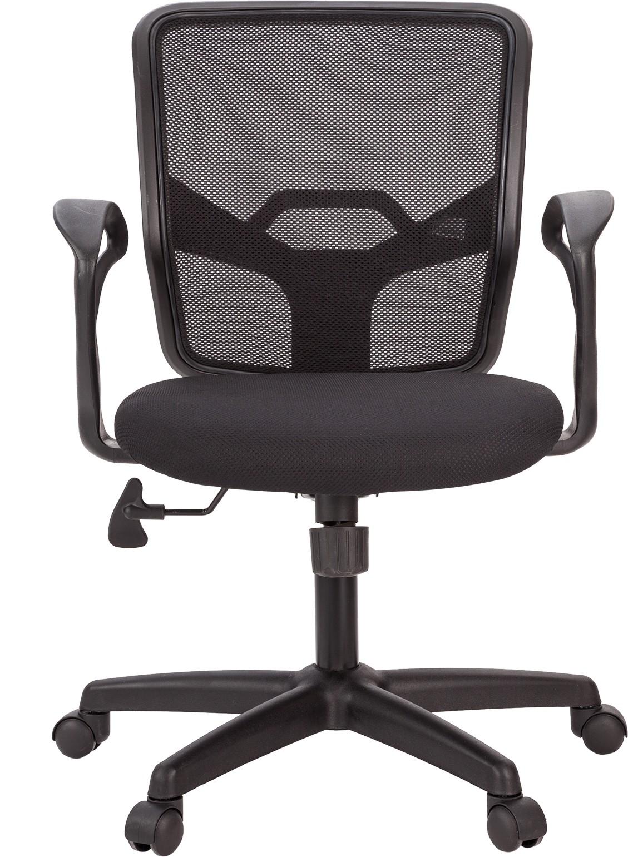 View Ergoline ALCE Fabric Office Chair(Black) Furniture (Ergoline)