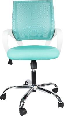 Hetal Enterprises Solid Wood Office Chair(Green)