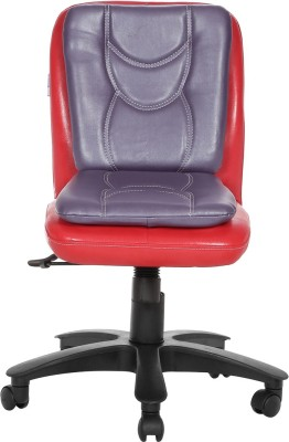 VJ Interior Leatherette Office Chair(Multicolor)