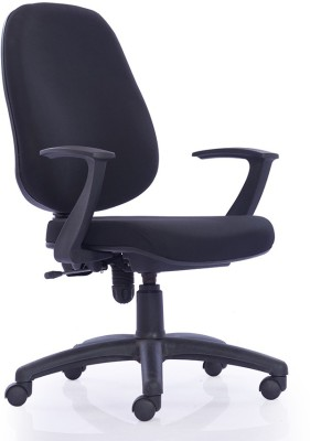 Durian ASTRO-HB-BLACK Fabric Office Chair(Black)