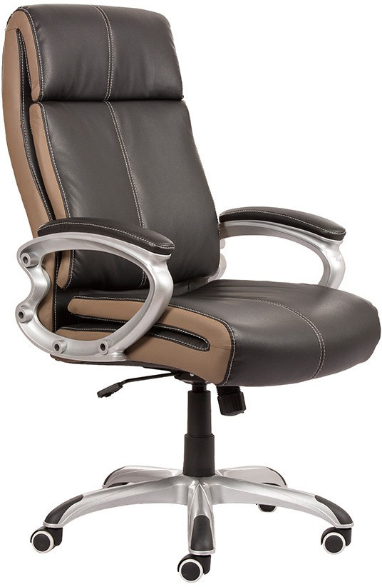 View Parin Leatherette Office Chair(Black) Furniture (Parin)