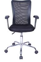 Stellar Synthetic Fiber Office Chair(Black)