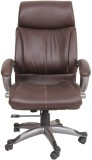 Ks chairs Leatherette Office Chair (Brow...