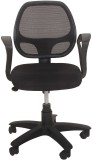 Ks chairs Leatherette Study Chair (Black...
