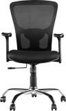 HomeTown OLIVIA Nylon Office Chair (Blac...