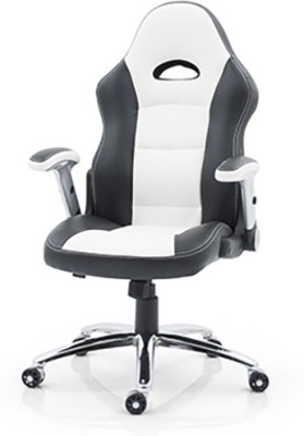 Urban Ladder Mika Leatherette Office Chair(White)