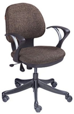 Mavi Fabric Study Chair