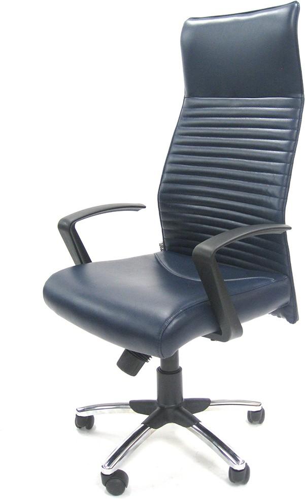 View Chromecraft NA Office Chair(Blue) Furniture (Chromecraft)