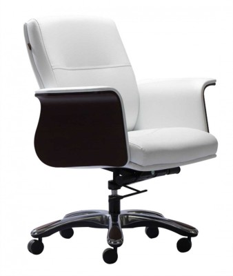 HOF Luzo Synthetic Fiber Office Chair(White)