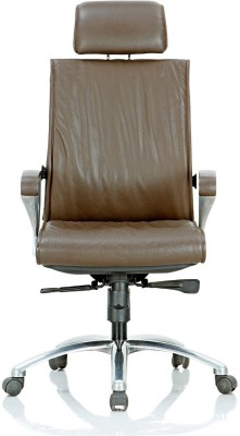 Featherlite Crown-1 HB Leather Office Chair